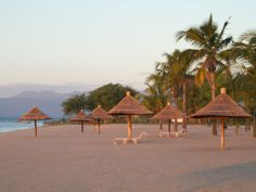Malawi - Strand bei Makakola Retreat