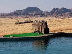 Rostock Ritz Desert Lodge - Pool with a view