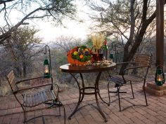 Waterberg Camp, Chalet Veranda