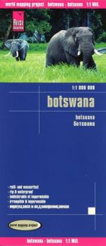 Reise-Know-How: Karte Botswana