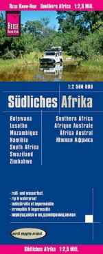 Reise-Know-How: Karte Südliches Afrika